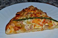Mi Diversión en la cocina: Pizza de Atún con Cebolla Caramelizada con Toque de Ajo y Perejil