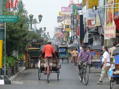 Malioboro is one of the main street in Yogyakarta. the center of tourist attraction & Government office.