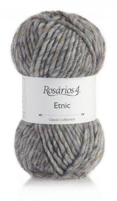 Etnic: 40% Wool/Lã, 54% Acrylic/Acrílico, 6% Alpaca