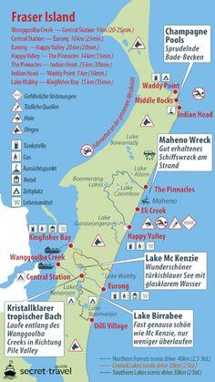 travel destinations australia Fraser Island Tour s - traveldestinations Visit Australia, Western Australia, Australia Travel, Queensland Australia, Happy Valley, Amazing Destinations, Travel Destinations, Fraser Island Australia, Les Continents
