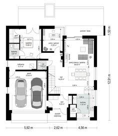 Projekt domu Orkan