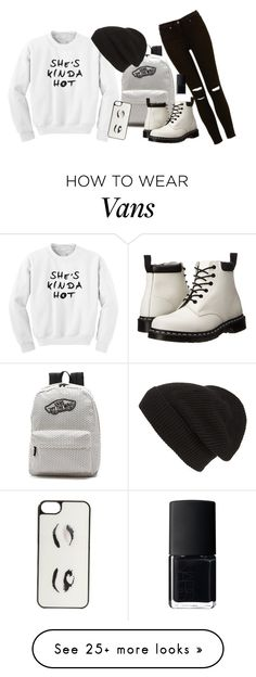 """we got a shot"" by mia-v1 on Polyvore featuring мода, Vans, Kate Spade, Dr. Martens, Phase 3 и NARS Cosmetics"