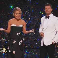 Ryan Seacrest and Kelly Ripa in a J Mendel dress at our 2017 After Oscar Show! Kelly Fashion, Ryan Seacrest, Kelly Ripa, Strapless Dress Formal, Formal Dresses, Style Finder, Fashion Finder, Celebs, Dresses For Formal