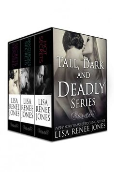 Tall, Dark, and Deadly 3 book box set  by Lisa Renee Jones on StoryFinds - Daily Deal $1 Kindle & Nook book deal - sexy romantic suspense box set by Lisa Renee Jones
