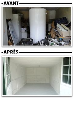 Home Staging - Le garage common sense get rid of your crapola!!