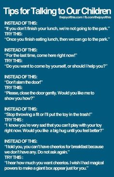 Tips for talking to our children #parenting #parentingtips #ParentingTipsforBabies #parentingadviceboys