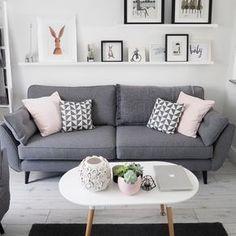 6 estilos para decorar salones modernos