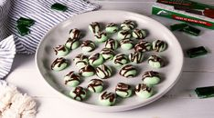 We Could Eat Of These Chocolate Mint ButtonsDelish Mint Chocolate Candy, Andes Mint Chocolate, Melting Chocolate, Chocolate Mints, Chocolate Recipes, Christmas Desserts, Christmas Treats, Christmas Baking, Christmas Goodies