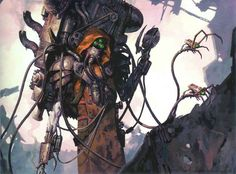 Urtzi Malevolus during the Schism of Mars a member of the Dark Mechanicus which broke from The Imperium during the Horus Heresy.