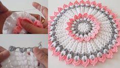 Hemen Yapmak İsteyeceğiniz Tığ İşi Yuvarlak Çiçek Lif Modeli Yapımı Crochet Necklace, Crochet Hats, Ideas, Paper, Chic Outfits, Crocheting, Amigurumi, Mantas Crochet, Tutorials