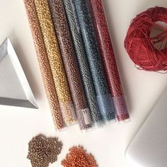 WEBSTA: Color inspiration for Bead crocheting #beadworkdesigner #beadwork #etsyseller #etsyshop #beadcrochetpatterns #beadcrochet #threadweavinginspiration #shopify #instagram #toho