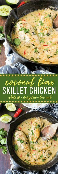 Paleo Coconut Lime Chicken Recipe
