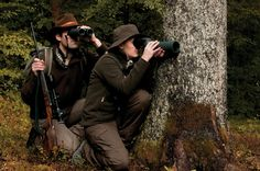 SWAROVSKI OPTIK combination: Z6i rifle scope, EL 42 SWAROVISION binoculars and STS HD spotting scopes #hunting