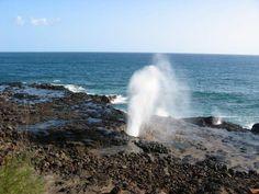 Spouting Horn in Kauai