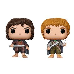 Characters from The Lord of the Rings have been added to Funko's already-extensive POP! vinyl line. Choose Frodo, Gandalf, Nazgul, Samwise, or Saruman, or a big 6-inch Balrog.