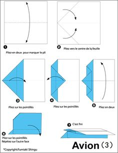 Origami paper plane drawing 55 Ideas for 2019 Origami Paper Plane, Origami Car, Origami Star Box, Kids Origami, Useful Origami, Easy Origami Flower, Origami Flowers, Origami Decoration, Cool Paper Crafts