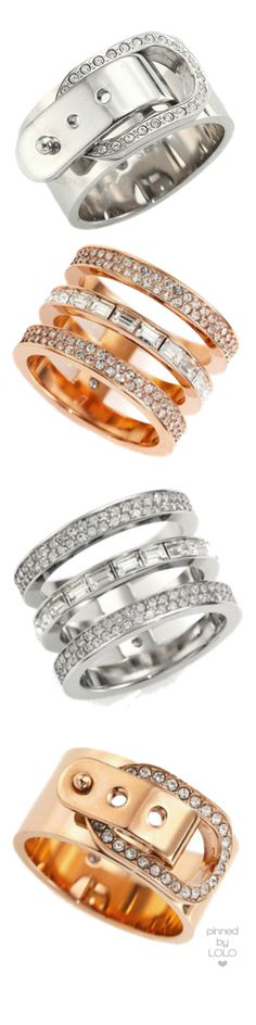 Michael Kors Assorted Rings | LOLO❤︎