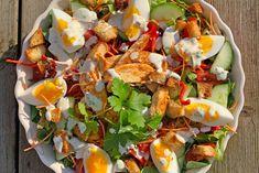 Healthy Salads, Salad Dressing, Soul Food, Cobb Salad, Ham, Risotto, Food Porn, Food And Drink, Favorite Recipes