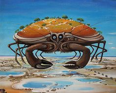 Surreal zodiac by Vasko Taškovski - Cancer