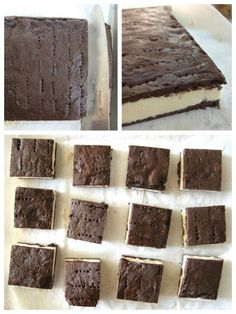 ice cream sandwich Whod ever think of making your own homemade ice cream sandwiches? After all, its easy enough to pick up a box at the supermarket. You can probably get store brand Ice Cream Treats, Ice Cream Desserts, Köstliche Desserts, Frozen Desserts, Ice Cream Recipes, Frozen Treats, Delicious Desserts, Dessert Recipes, Diy Ice Cream