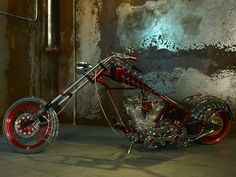Awesome Spiderman Custom Chopper by Orange County