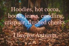 Fall time ❤ Favorite time of year!