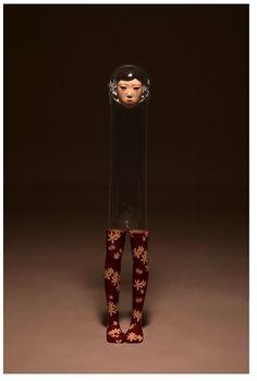 Jin Young Yu's transparent sculptures