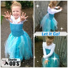 How to make an Elsa dress / dressing up / costume for less than £10 - Frozen #diy #Frozen #Disney