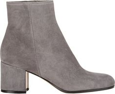 Gianvito Rossi Side Zip Ankle Boots at Barneys New York