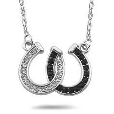 Good Luck Horseshoe Pendant Necklace