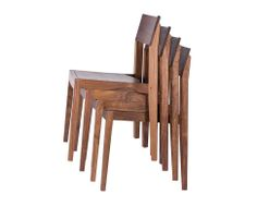 Furniture:Garden Furniture Wood Wooden Hardwoon Klamath Stacking Chair The Joinery Portland Oregon Lovely Garden Chair Furniture by Emu's Iv...