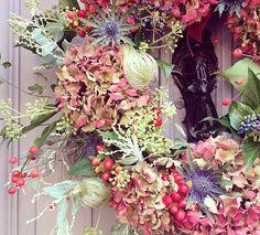Foxtail Lilly - Vintage Florist - Bespoke Wedding Flowers Seasonal Flowers, Fresh Flowers, Fall Wreaths, Christmas Wreaths, Floral Wedding, Wedding Flowers, Autumn Crafts, Flower Designs, Floral Wreath