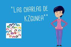 Kontxi e Iñaki aclaran sus dudas TIC con las charlas de KZgunea