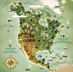 Carye Amerique du Nord
