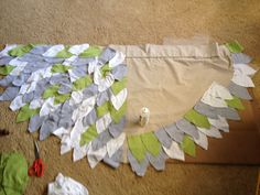 How to make owl wings for costume
