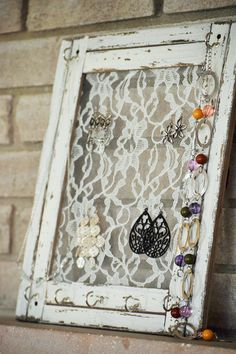 The 15 Best Picture Frame Jewelry Holders Jewellery holder and