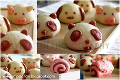 Steamed Red Bean Buns