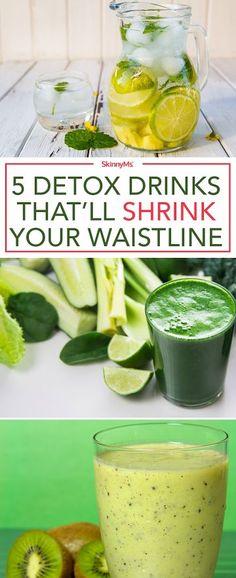 5 Detox Drinks That�ll Shrink your Waistline