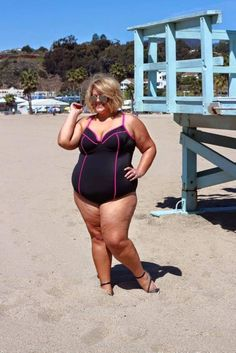 Plus-Size Blogger Explains Why Wearing A Bathing Suit Doesn't Make Her 'Brave'