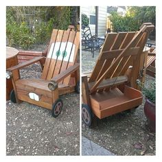 My homemade (from scratch) tow mater adirondack chair.... For mason