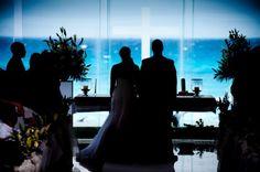 cancun wedding- ocean front Catholic glass chapel