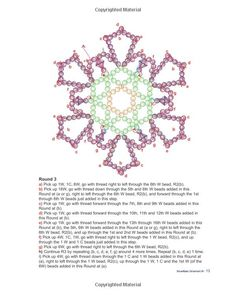 Beaded Lace Snowflake Ornaments: Sandra D Halpenny: 9780973797367: Amazon.com: Books
