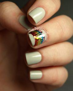 Rainbow mani fromThe Nailasaurus