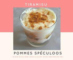 recette tiramisu en verrines pommes caramélisées spéculoos