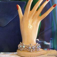 yes, please!!!    Vintage 1950s CORO Silver Blue Aurora Borealis by atticville, $54.00