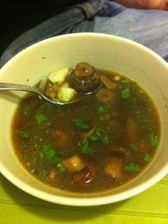 Medieval Mushroom Soup from the Teutonic Grand Masters