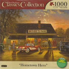 Amazon.com: Hometown Hero By David Barnhouse 1000 Piece Puzzle: Toys & Games