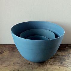 Nest of bowls by Rina Menardi