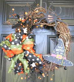 Fall Wreath Halloween Wreath