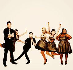 Rachel Berry & Finn Hudson & Kurt Hummel & Artie Abrams & Mercedes Jones & Tina Cohen-Chang & Quinn Fabray